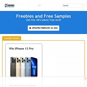 WOW FreeStuff | Beauty Samples